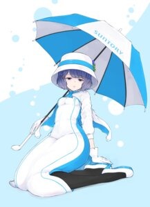 Rating: Safe Score: 12 Tags: dress heels santori_nomu suntory temari_rin umbrella User: Mr_GT