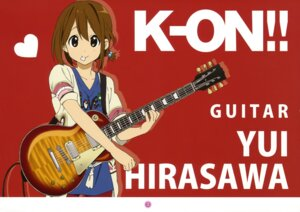 Rating: Safe Score: 27 Tags: guitar hirasawa_yui k-on! User: animeprincess