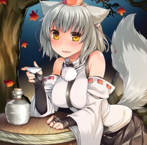 Rating: Safe Score: 25 Tags: animal_ears inubashiri_momiji luliao tail touhou User: Mr_GT