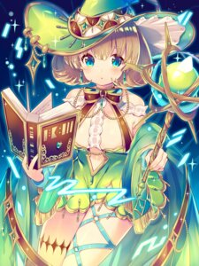 Rating: Safe Score: 30 Tags: dress garter ikari_(aor3507) weapon witch User: Mr_GT