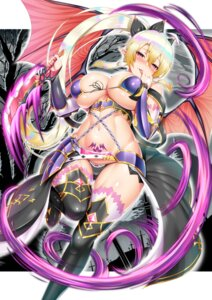 Rating: Questionable Score: 56 Tags: armor bikini_armor breast_hold cameltoe kawase_seiki leafa pointy_ears sword_art_online tattoo thighhighs weapon wings User: mash