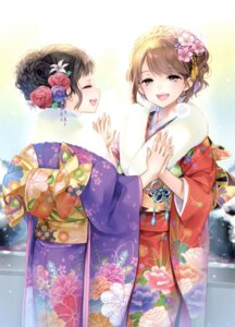 Rating: Safe Score: 42 Tags: kaguyuzu kimono User: Twinsenzw