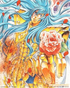 Rating: Safe Score: 4 Tags: male pisces_albafica saint_seiya saint_seiya:_the_lost_canvas screening teshirogi_shiori watermark User: kyoushiro