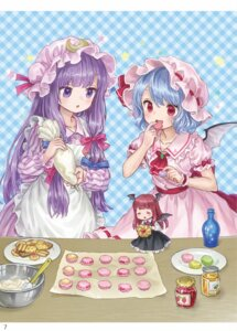 Rating: Safe Score: 20 Tags: ama-tou chibi koakuma patchouli_knowledge remilia_scarlet touhou wings User: Mr_GT