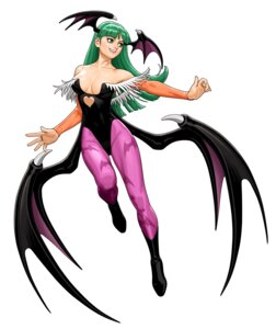 Rating: Safe Score: 17 Tags: capcom cleavage dark_stalkers leotard morrigan_aensland pantyhose shinkirou tatsunoko_vs_capcom wings User: Radioactive