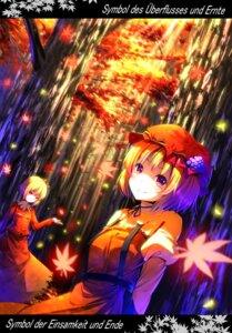 Rating: Questionable Score: 13 Tags: aki_minoriko aki_shizuha ryosios touhou User: Hughonly