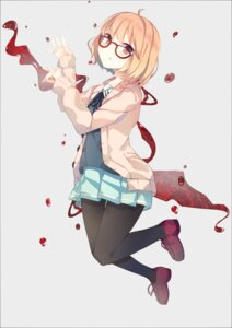 Rating: Safe Score: 28 Tags: blood kuriyama_mirai kyoukai_no_kanata megane nmaaaaa pantyhose seifuku User: 椎名深夏