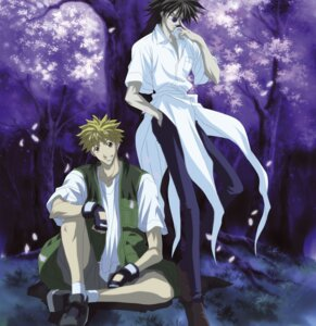 Rating: Safe Score: 1 Tags: amano_ginji get_backers male megane mido_ban User: Radioactive