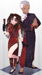 Rating: Safe Score: 12 Tags: archer asian_clothes chinadress fate/stay_night shimatori_(sanyyyy) toosaka_rin User: Spidey