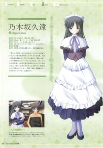 Rating: Safe Score: 5 Tags: clover_hearts maid nimura_yuuji nogisaka_kuon profile_page screening User: admin2