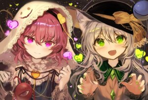 Rating: Safe Score: 18 Tags: animal_ears fuupu komeiji_koishi komeiji_satori nekomimi touhou User: Mr_GT