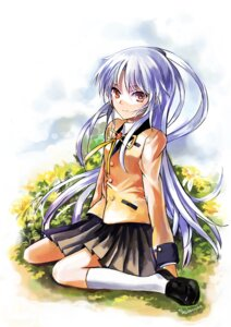 Rating: Safe Score: 29 Tags: angel_beats! qianshuhao seifuku tenshi User: fireattack