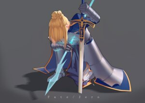 Rating: Safe Score: 12 Tags: armor dress fate/stay_night fate/zero saber sword takamitsu-kun User: charunetra