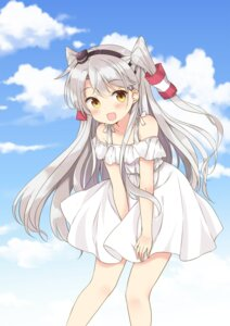 Rating: Safe Score: 81 Tags: amatsukaze_(kancolle) dress kantai_collection summer_dress yoshikita_popuri User: Mr_GT