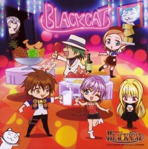 Rating: Safe Score: 7 Tags: black_cat chibi creed_diskenth disc_cover eve neko rinslet_walker screening sven_volfied tanya_(black_cat) train_heartnet wings User: charunetra