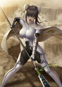 Rating: Safe Score: 29 Tags: armor bodysuit fate/grand_order qin_liangyu_(fate/grand_order) tagme weapon User: charunetra