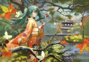 Rating: Safe Score: 17 Tags: hatsune_miku kimono tagme vocaloid User: charunetra