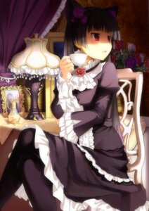 Rating: Safe Score: 132 Tags: animal_ears gokou_ruri gothic_lolita lolita_fashion nekomimi ore_no_imouto_ga_konnani_kawaii_wake_ga_nai spirtie User: Mistalleks