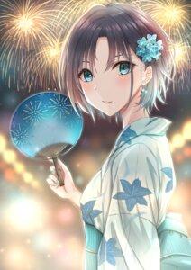 Rating: Safe Score: 15 Tags: asakura_tooru the_idolm@ster the_idolm@ster_shiny_colors yukata yuzuyu User: Arsy