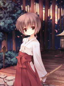 Rating: Safe Score: 25 Tags: amatsume_akira miko yosuga_no_sora yuku_(kiollion) User: fairyren