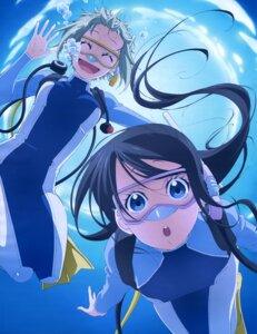 Rating: Safe Score: 26 Tags: amanchu! bodysuit kohinata_hikari ooki_futaba User: drop