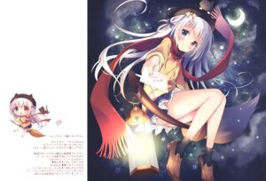 Rating: Safe Score: 35 Tags: chibi chocolate_cube heels heterochromia miwa_futaba seifuku sweater User: kiyoe