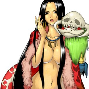 Rating: Questionable Score: 38 Tags: boa_hancock cleavage kalua naked_cape one_piece salome User: Radioactive