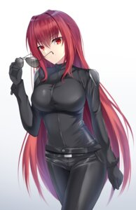 Rating: Safe Score: 42 Tags: bodysuit fate/grand_order feng_mouren megane scathach_(fate/grand_order) User: Nepcoheart
