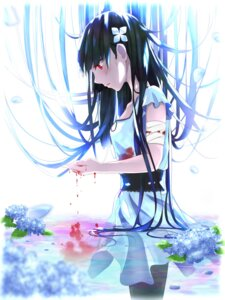 Rating: Questionable Score: 27 Tags: bandages blood dress pantyhose raqunzel0630 sanka_rea sankarea wet wet_clothes User: Nepcoheart