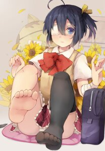 Rating: Questionable Score: 30 Tags: chuunibyou_demo_koi_ga_shitai! evers_i eyepatch feet pantsu seifuku takanashi_rikka thighhighs User: Radioactive