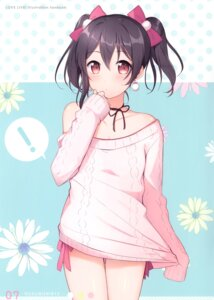Rating: Safe Score: 25 Tags: 6u breast_hold love_live! sweater yazawa_nico User: kiyoe