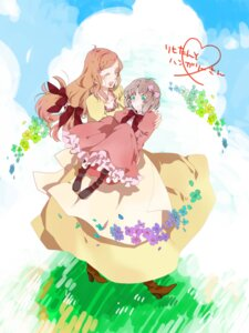Rating: Safe Score: 6 Tags: dress haramasa hetalia_axis_powers hungary liechtenstein User: Radioactive