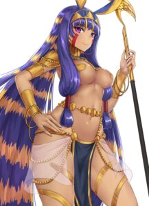 Rating: Questionable Score: 48 Tags: animal_ears armor breasts bunny_ears chitu_hefeng_zhong fate/grand_order nitocris_(fate/grand_order) no_bra pasties weapon User: Nepcoheart
