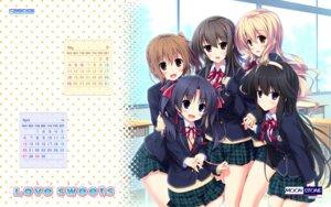 Rating: Safe Score: 38 Tags: calendar enjou_minamo futami_iori game-style hinata_nao ichinose_yui love_sweets moonstone otonashi_kanae otonashi_kushina sakurazaka_tsuchiyu seifuku wallpaper User: moonian