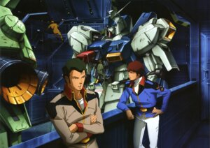 Rating: Safe Score: 8 Tags: amuro_ray bright_noa char's_counterattack gundam mecha User: Radioactive