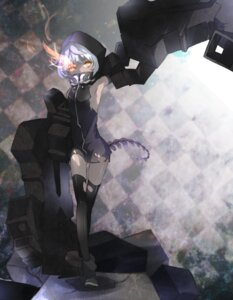 Rating: Safe Score: 28 Tags: black_rock_shooter strength takka thighhighs vocaloid User: Radioactive