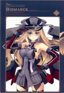 Rating: Safe Score: 22 Tags: bismarck_(kancolle) kantai_collection shirokitsune thighhighs uniform User: kiyoe