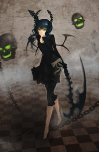 Rating: Safe Score: 19 Tags: black_rock_shooter dead_master horns minevi vocaloid User: Nekotsúh