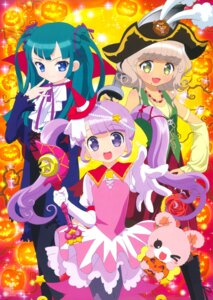 Rating: Safe Score: 14 Tags: dress halloween hara_shoji manaka_non pantyhose pripara taiyou_pepper tsukikawa_chiri weapon User: sdkfz142b