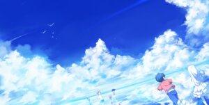Rating: Safe Score: 23 Tags: ano_hi_mita_hana_no_namae_wo_bokutachi_wa_mada_shiranai honma_meiko landscape silverwing User: Nekotsúh