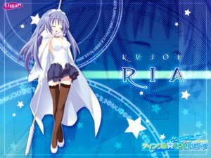 Rating: Safe Score: 41 Tags: cleavage kannagi_rei kujou_ria thighhighs twinkle_crusaders wallpaper User: dandan550