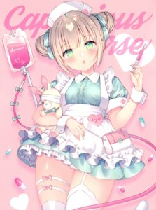 Rating: Safe Score: 26 Tags: nurse thighhighs wasabi_(artist) User: RICO740