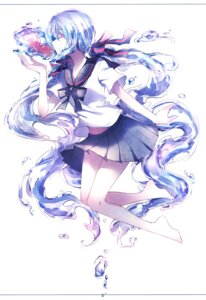 Rating: Safe Score: 46 Tags: bottle_miku feet hatsune_miku peneko seifuku vocaloid User: KazukiNanako