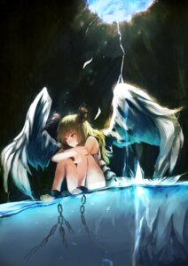 Rating: Safe Score: 21 Tags: bondage horns masutomo wet wings User: animeprincess