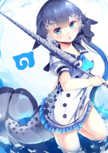 Rating: Safe Score: 16 Tags: dress kanzakietc kemono_friends narwhal tail weapon wet User: Mr_GT