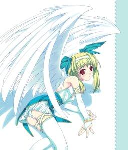 Rating: Safe Score: 18 Tags: murakami_suigun pantsu thighhighs wings User: Radioactive