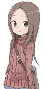 Rating: Safe Score: 21 Tags: karakai_jouzu_no_takagi-san sweater takagi-san yamamoto_souichirou User: Spidey