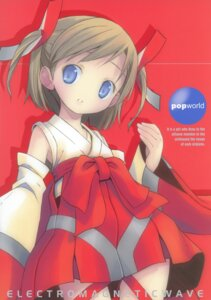 Rating: Safe Score: 8 Tags: electromagnetic_wave miko pop User: petopeto