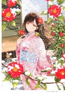 Rating: Safe Score: 44 Tags: akasaka_asa kimono User: kiyoe