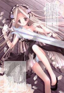 Rating: Questionable Score: 19 Tags: dress duel_dolls pantsu sword tinkle User: syaoran-kun